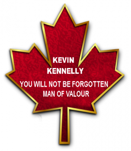 Kevin Kennelly You wil no tbe forgotten
